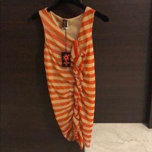 Jean Paul Gaultier Striped Mash Top